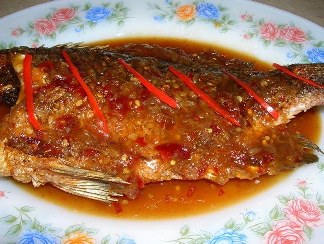 ปลาราดพริก