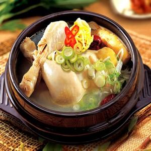 ไก่ตุ๋นโสมเกาหลี