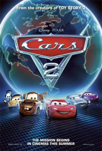 Cars 2 สายลับสี่ล้อ ซิ่งสนั่นโลก