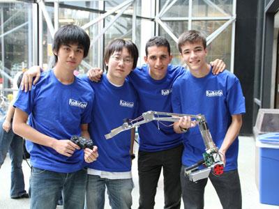 หุ่นยนต์โลก IDC Robocon 2011