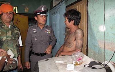 ตำรวจเข้าปิดล้อมตรวจค้นชุมชน