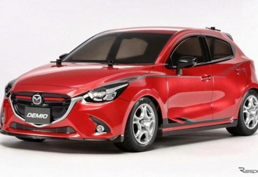 รถบังคับวิทยุ 1/10 Mazda DEMIO จากทาง TAMIYA